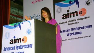 Dr. Rishma Pai AIM Advanced Hysteroscopy Workshop