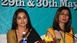 Dr. Rishma Pai and Vidya Balan