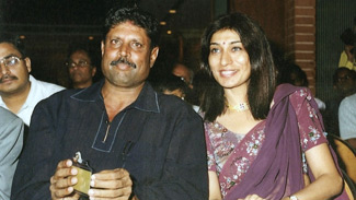 Kapil Dev and Dr. Rishma Pai