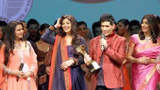 Poonam Dhillon, Shilpa Shetty, Manish Malhotra and Rishma Pai