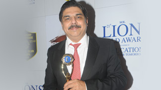lions club award Dr. H D Pai
