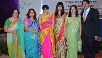 Dr. Hrishikesh Pai(infertility consultant at Fortis La Femme and President of ISAR), Dr Pratima Mittal (consultant and HOD at Safdarjung Hospital), Mandira Bedi, Dr Nandita Palshetkar (Secretary General, ISAR), Dr Rishma
