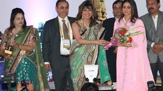 Dr. Pratima Mittal (consultant and HOD at Safdarjung Hospital),  Dr. Nandita Palshetkar (Secretary General, ISAR), Mandira Bedi, Dr. Rishma Pai (Gynaecologist and Consultant Obstetrician), Dr. Alka Kriplani(professor aiim)