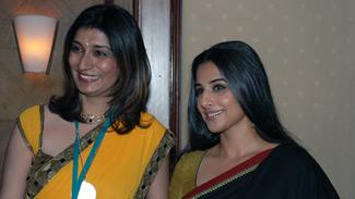 Dr. Rishma Pai with Vidya Balan