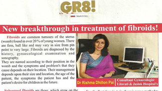 New breakthrough in treatment of fibroids!