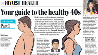 Your Guide to the healthy 40s