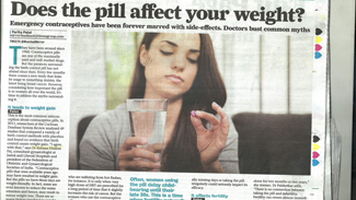 Does the pill affect your weight