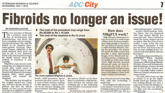 Fibroids no longer an issue! (ADC City) 7 July 2010